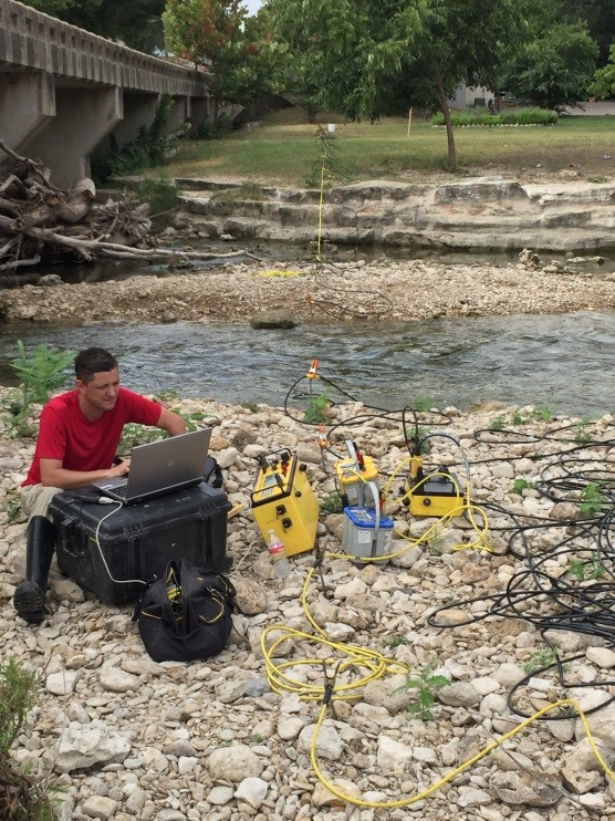 Resistivity Survey of a Pipeline River Crossing