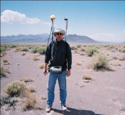 Ground-based magnetometer survey in Death Valley