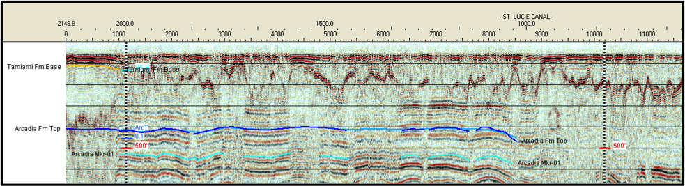 Example Processed Seismic Reflection Profile
