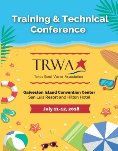 TRWA's 2018 Training & Technical Conference – Galveston, TX