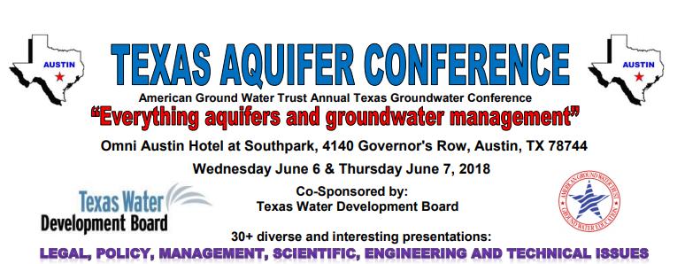 AGWT Texas Aquifer Conference – Austin, TX