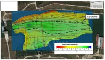 Sub-bottom profiling and bathymetry survey